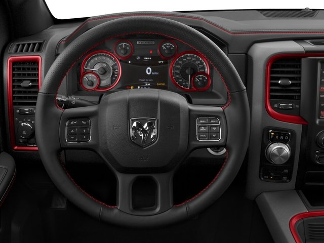 2017 Ram Truck 1500 Prices and Values Crew Cab Rebel 4WD driver's dashboard