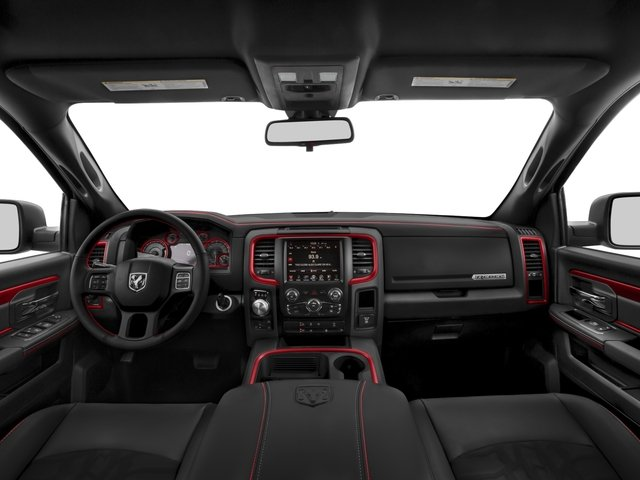2017 Ram Truck 1500 Prices and Values Crew Cab Rebel 4WD full dashboard
