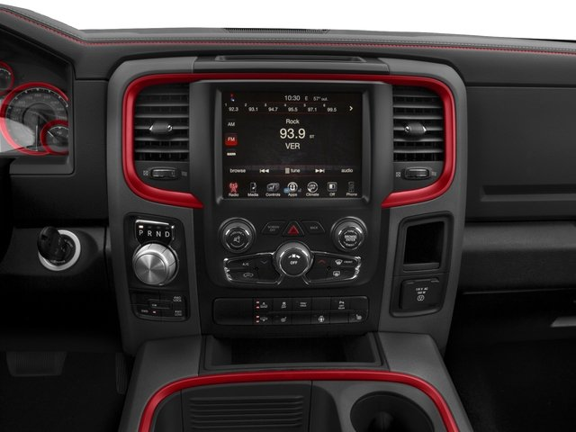 2017 Ram Truck 1500 Prices and Values Crew Cab Rebel 4WD stereo system