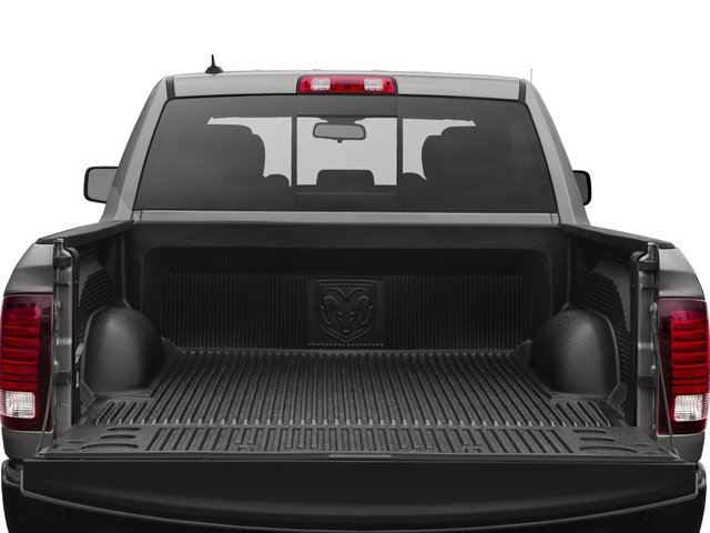 2017 Ram Truck 1500 Prices and Values Crew Cab Rebel 4WD open trunk