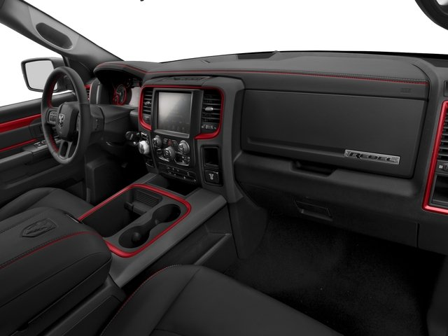 2017 Ram Truck 1500 Prices and Values Crew Cab Rebel 4WD passenger's dashboard