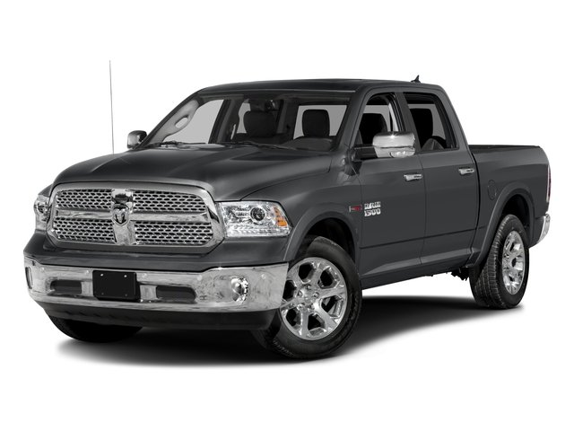 2017 Ram Truck 1500 Pictures 1500 Laramie 4x4 Crew Cab 6'4 Box photos side front view