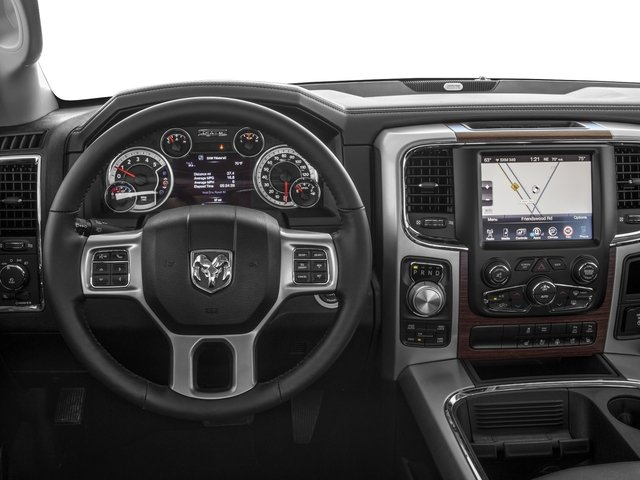 2017 Ram Truck 1500 Pictures 1500 Laramie 4x4 Crew Cab 6'4 Box photos driver's dashboard