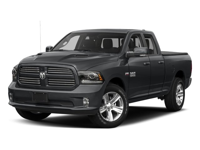 2017 Ram Truck 1500 Base Price Night 4x2 Quad Cab 6'4 Box Pricing side front view