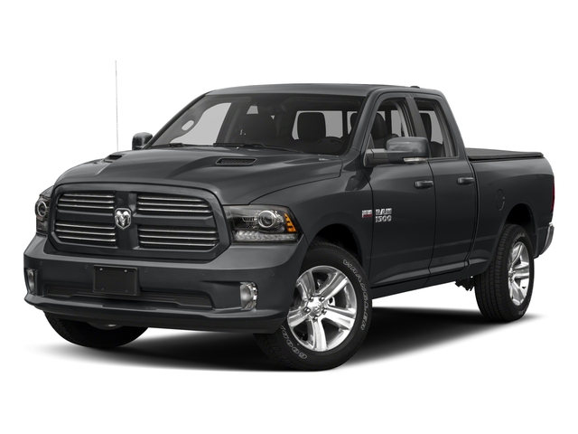 2017 Ram Truck 1500 Pictures 1500 Night 4x4 Quad Cab 6'4 Box photos side front view