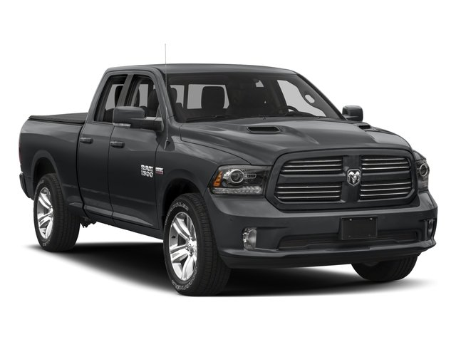 2017 Ram Truck 1500 Prices and Values Quad Cab Sport 2WD side front view