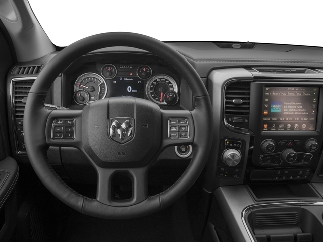 2017 Ram Truck 1500 Prices and Values Quad Cab Sport 2WD driver's dashboard