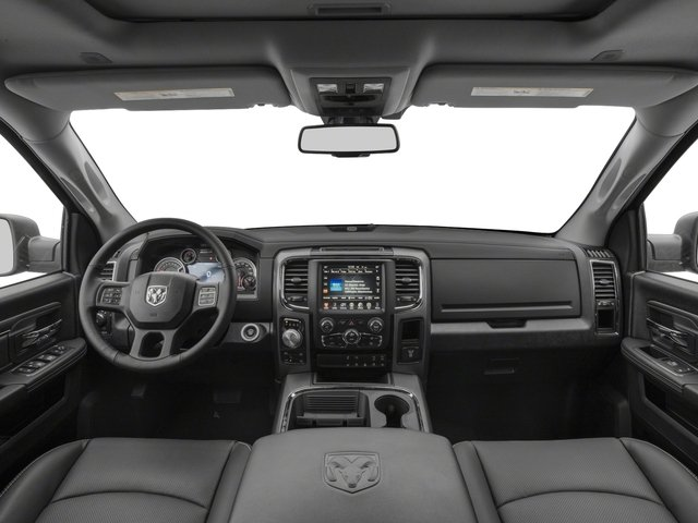 2017 Ram Truck 1500 Prices and Values Quad Cab Sport 2WD full dashboard