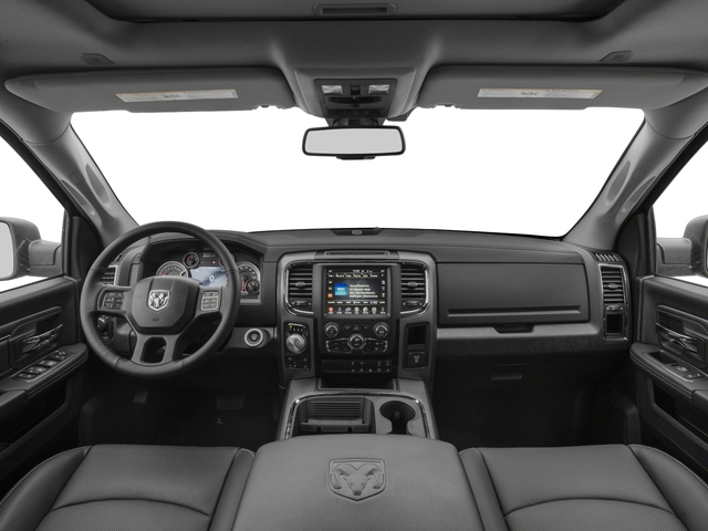 2017 Ram Truck 1500 Base Price Night 4x2 Quad Cab 6'4 Box Pricing full dashboard