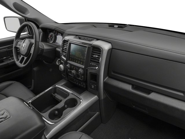 2017 Ram Truck 1500 Prices and Values Quad Cab Sport 2WD passenger's dashboard