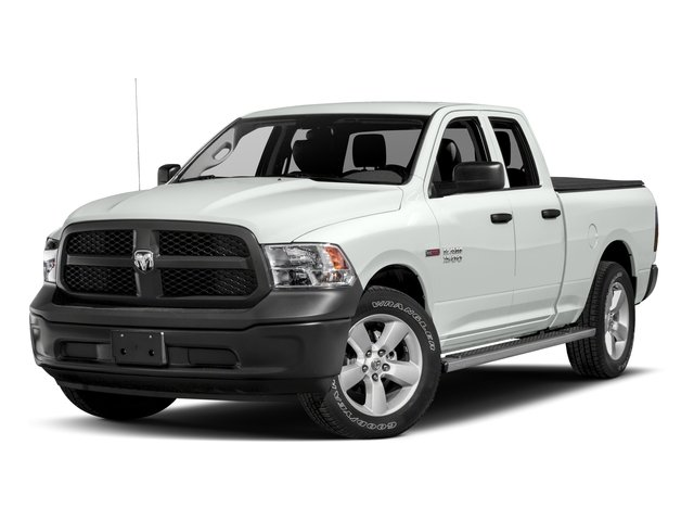 2017 Ram Truck 1500 Pictures 1500 HFE 4x2 Quad Cab 6'4 Box photos side front view