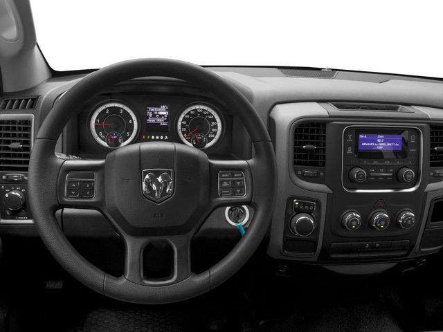 2017 Ram Truck 1500 Prices and Values Quad Cab HFE 2WD V6 T-Diesel driver's dashboard
