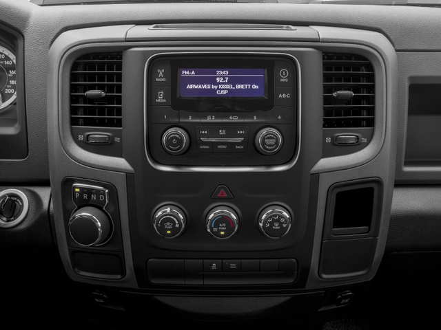 2017 Ram Truck 1500 Pictures 1500 Quad Cab HFE 2WD V6 T-Diesel photos stereo system