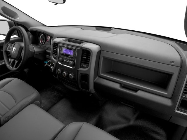 2017 Ram Truck 1500 Pictures 1500 Quad Cab HFE 2WD V6 T-Diesel photos passenger's dashboard