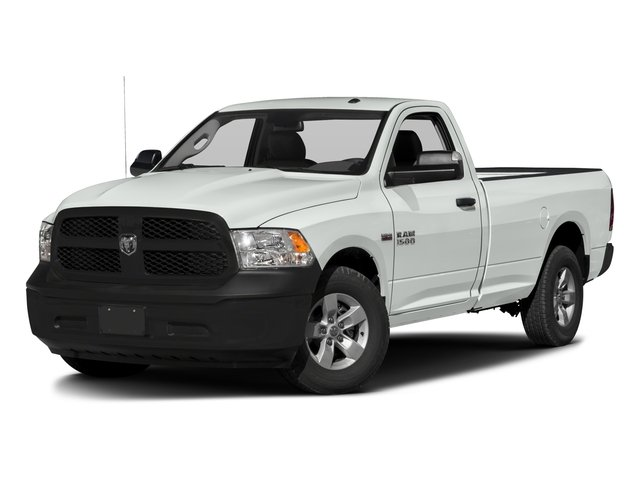 2017 Ram Truck 1500 Base Price Express 4x2 Regular Cab 6'4 Box Pricing side front view