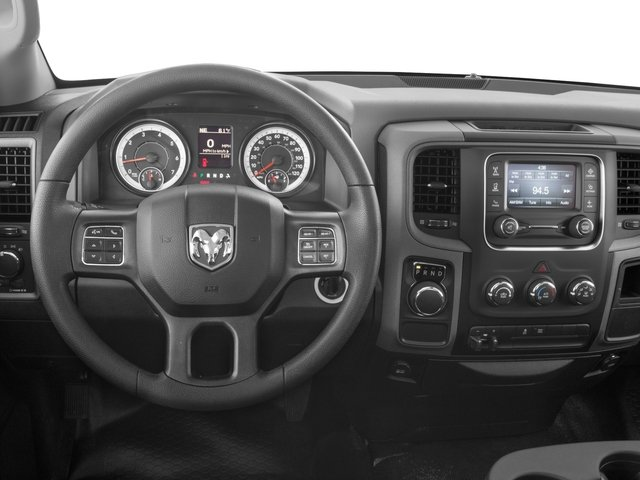 2017 Ram Truck 1500 Prices and Values Regular Cab Express 4WD driver's dashboard