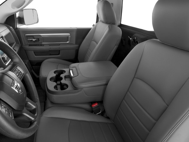 2017 Ram Truck 1500 Prices and Values Regular Cab SLT 2WD front seat interior