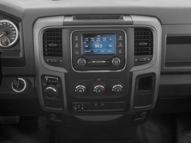 2017 Ram Truck 1500 Base Price Express 4x2 Regular Cab 6'4 Box Pricing stereo system