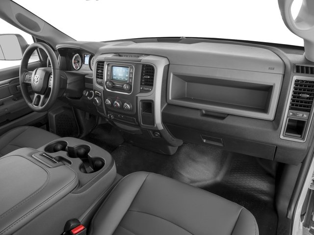2017 Ram Truck 1500 Prices and Values Regular Cab SLT 2WD passenger's dashboard