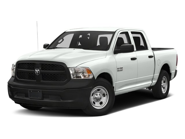 2017 Ram Truck 1500 Base Price Express 4x4 Crew Cab 5'7 Box Pricing side front view