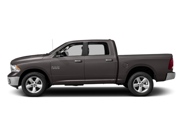 2017 Ram Truck 1500 Base Price Lone Star Silver 4x4 Crew Cab 6'4 Box Pricing side view