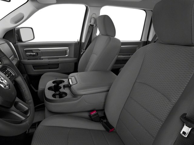 2017 Ram Truck 1500 Prices and Values Crew Cab Bighorn/Lone Star 4WD front seat interior