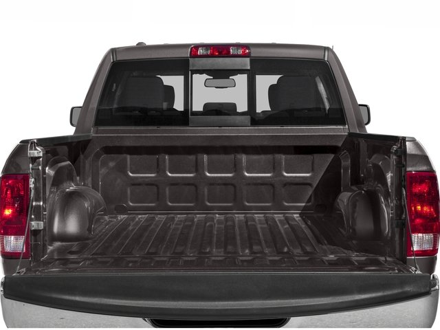 2017 Ram Truck 1500 Pictures 1500 Lone Star Silver 4x2 Crew Cab 5'7 Box photos open trunk