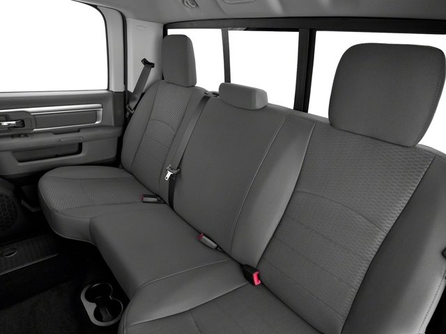 2017 Ram Truck 1500 Base Price Lone Star Silver 4x4 Crew Cab 6'4 Box Pricing backseat interior
