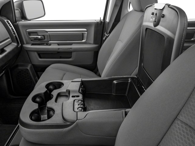 2017 Ram Truck 1500 Pictures 1500 Lone Star Silver 4x2 Crew Cab 5'7 Box photos center storage console