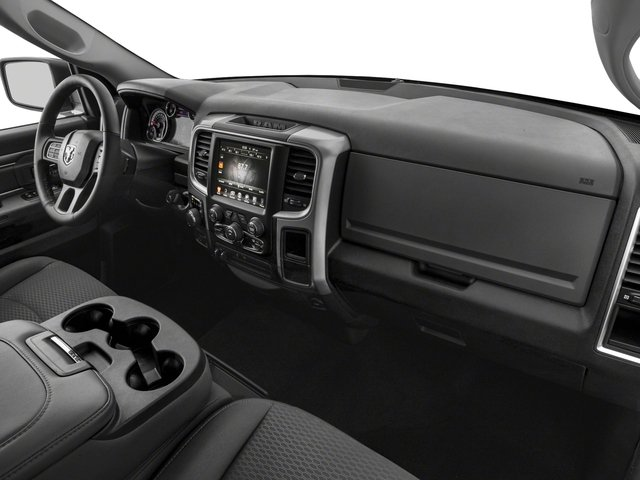 2017 Ram Truck 1500 Base Price Lone Star Silver 4x4 Crew Cab 6'4 Box Pricing passenger's dashboard