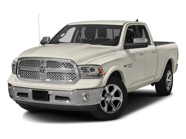2017 Ram Truck 1500 Base Price Laramie 4x2 Quad Cab 6'4 Box Pricing side front view