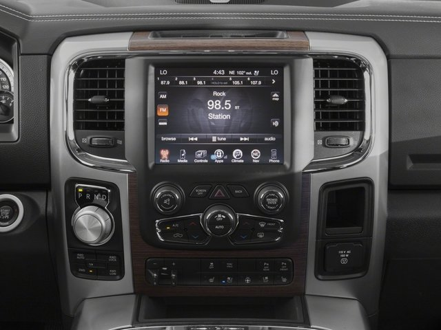 2017 Ram Truck 1500 Base Price Laramie 4x2 Quad Cab 6'4 Box Pricing stereo system