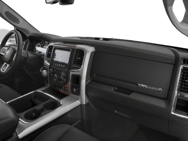 2017 Ram Truck 1500 Base Price Laramie 4x2 Quad Cab 6'4 Box Pricing passenger's dashboard