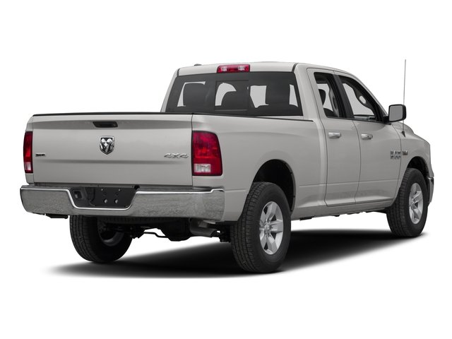 2017 Ram Truck 1500 Prices and Values Quad Cab SLT 2WD side rear view