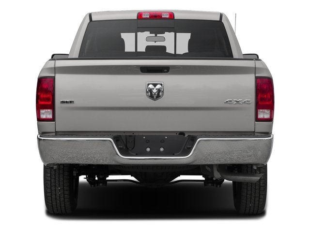 2017 Ram Truck 1500 Prices and Values Quad Cab SLT 2WD rear view