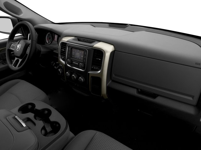 2017 Ram Truck 1500 Prices and Values Quad Cab SLT 2WD passenger's dashboard