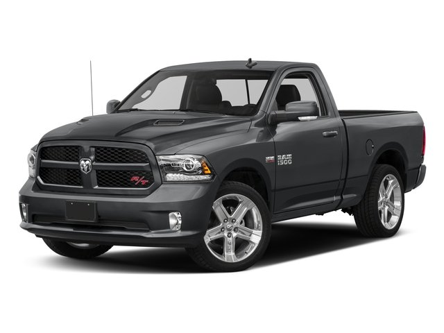 2017 Ram Truck 1500 Pictures 1500 Night 4x2 Regular Cab 6'4 Box photos side front view