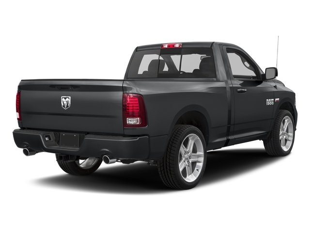 2017 Ram Truck 1500 Pictures 1500 Night 4x2 Regular Cab 6'4 Box photos side rear view