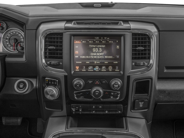 2017 Ram Truck 1500 Pictures 1500 Night 4x4 Regular Cab 6'4 Box photos stereo system