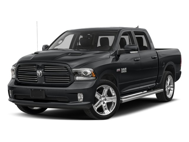 2017 Ram Truck 1500 Base Price Night 4x4 Crew Cab 5'7 Box Pricing side front view