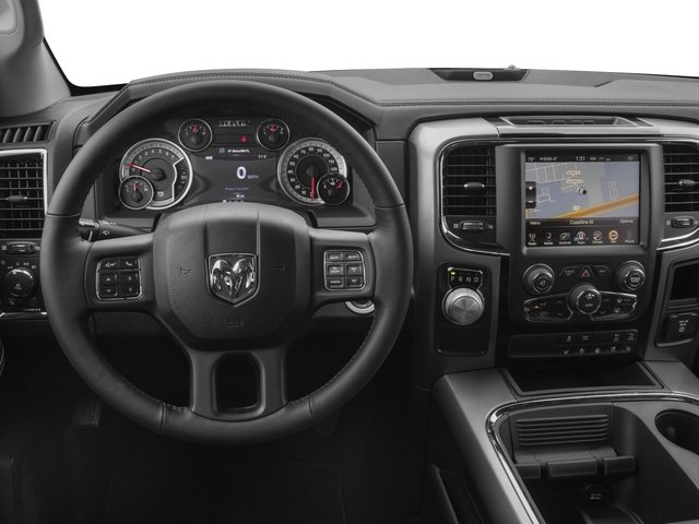 2017 Ram Truck 1500 Pictures 1500 Night 4x2 Crew Cab 5'7 Box photos driver's dashboard
