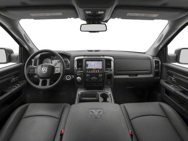 2017 Ram Truck 1500 Base Price Night 4x4 Crew Cab 5'7 Box Pricing full dashboard