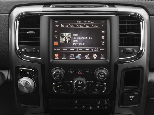 2017 Ram Truck 1500 Prices and Values Crew Cab Sport 4WD stereo system