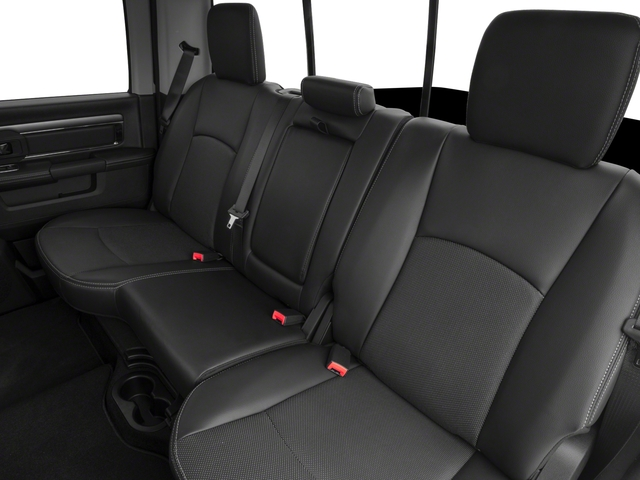 2017 Ram Truck 1500 Prices and Values Crew Cab Sport 4WD backseat interior