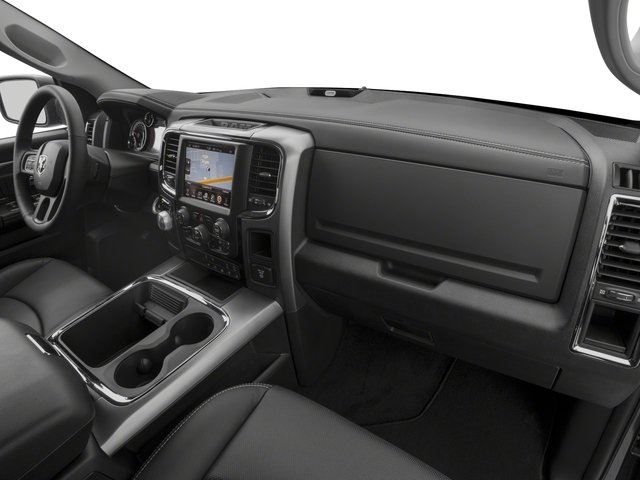 2017 Ram Truck 1500 Base Price Night 4x4 Crew Cab 5'7 Box Pricing passenger's dashboard