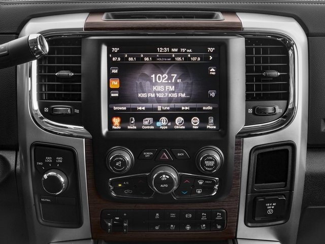 2017 Ram Truck 2500 Prices and Values Mega Cab Laramie 4WD stereo system