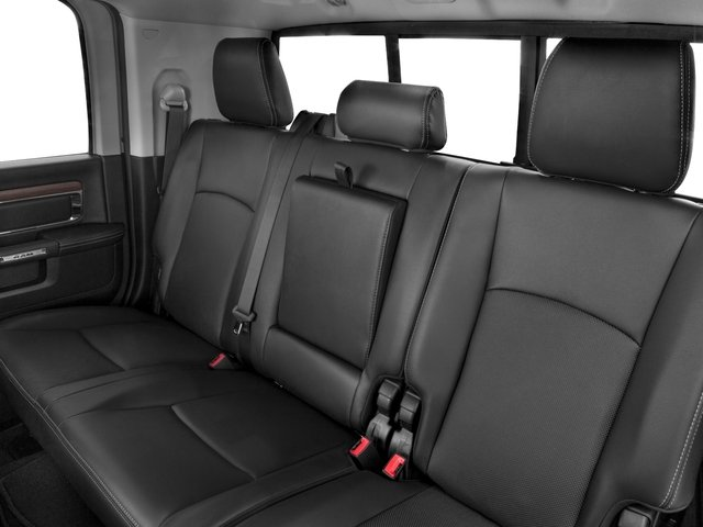 2017 Ram Truck 2500 Prices and Values Mega Cab Laramie 4WD backseat interior
