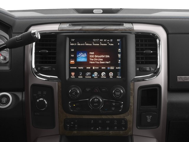 2017 Ram Truck 2500 Prices and Values Mega Cab Longhorn 2WD stereo system