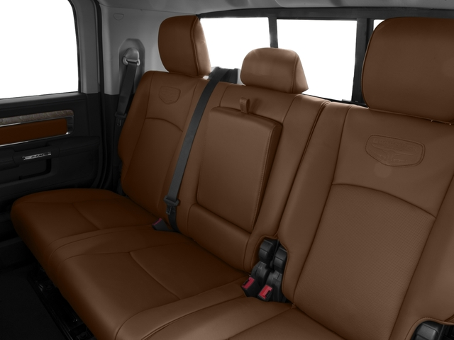 2017 Ram Truck 2500 Prices and Values Mega Cab Longhorn 2WD backseat interior