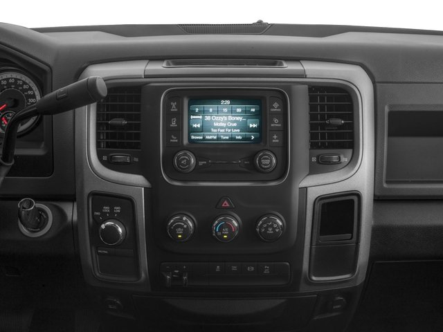 2017 Ram Truck 2500 Prices and Values Crew Cab Tradesman 2WD stereo system